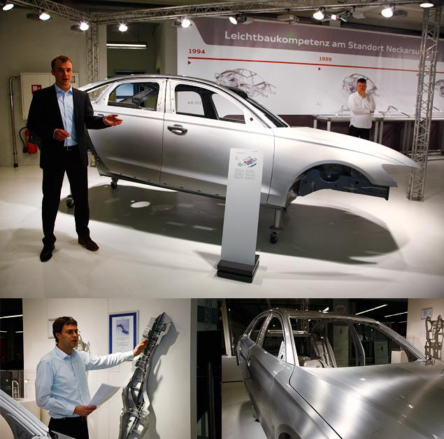 Узнаем легкое будущее автомобилей Audi и Lamborghini