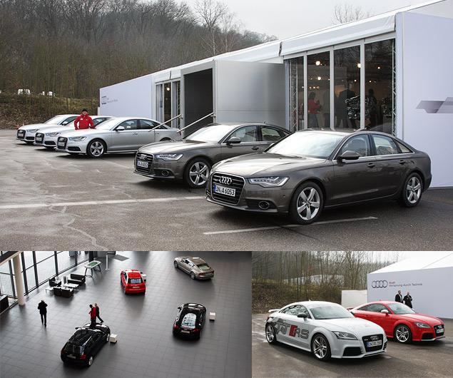 Узнаем легкое будущее автомобилей Audi и Lamborghini. Фото 1