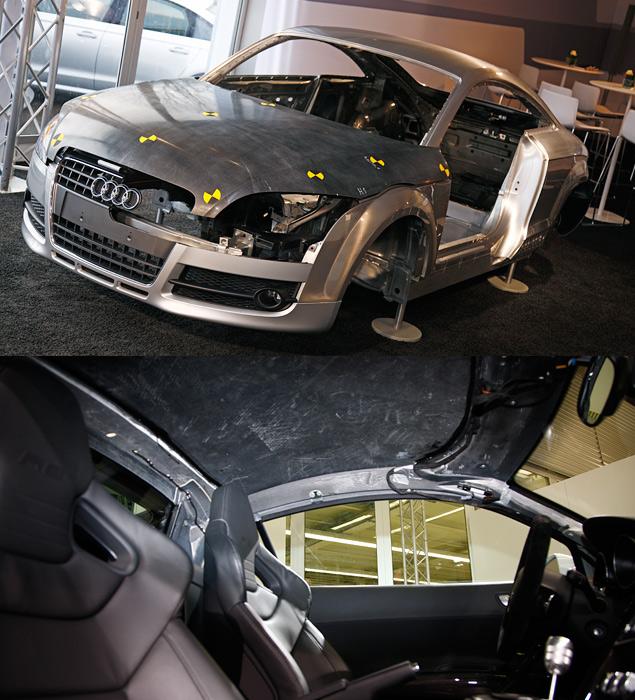 Узнаем легкое будущее автомобилей Audi и Lamborghini. Фото 2