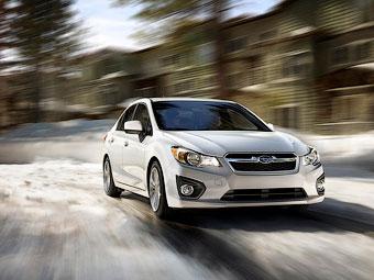 """Компания Subaru на два месяца отложила выход на рынок новой """"Импрезы"""""""