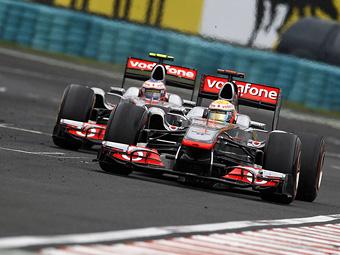 Команда McLaren разрешила своим гонщикам бороться друг с другом на Гран-при Венгрии