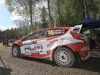 Сход Новикова на Ралли Финляндии был вызван поломкой двигателя