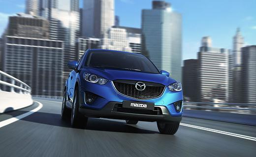 Компания Mazda рассекретила серийный кроссовер CX-5