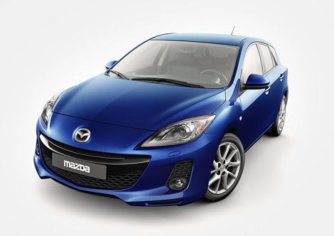 На моторшоу во Франкфурте состоится премьера новой модели компании Mazda. Фото 2
