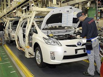 """Из-за землетрясения прибыль """"Тойоты"""" снизилась на 99 процентов"""