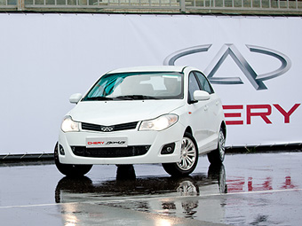 В России начнутся продажи двух новых моделей Сhery