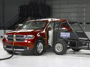 Новый Dodge Durango получил высшую оценку за безопасность