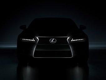 Опубликована первая фотографиия седана Lexus GS нового поколения