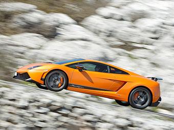 Lamborghini покажет во Франкфурте самый экстремальный Gallardo