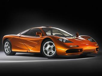 Мистер Бин разбил свой суперкар McLaren F1