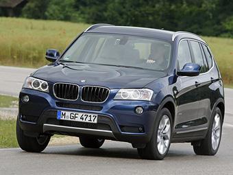 Кроссовер BMW X3 получил два новых мотора
