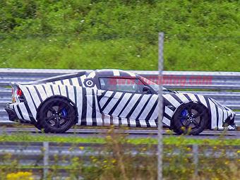 Lotus приступил к испытаниям спорткара Exige нового поколения