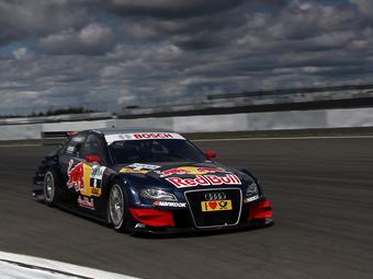 Экстрем выиграл гонку DTM на Нюрбургринге