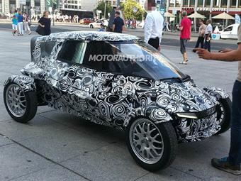 В Берлине сфотографировали электрический концепт-кар Audi