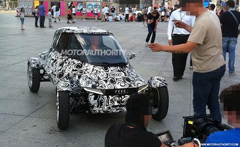 Появились фотографии необычного двухместного концепт-кара Audi. Фото 1