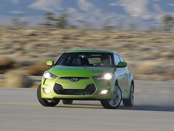 В России начнутся продажи асимметричного купе Hyundai