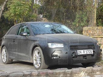 Компания Audi начала тесты хэтчбека A3 нового поколения