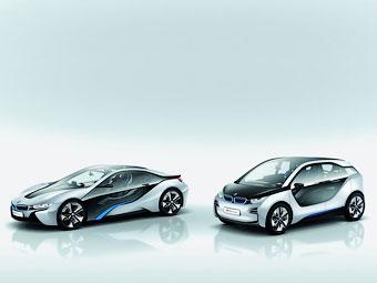 BMW разработает две новые экологически чистые модели