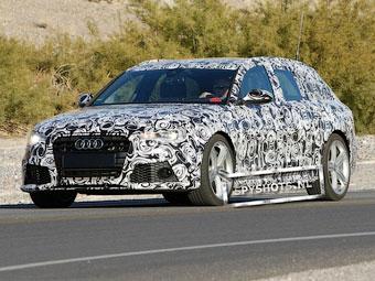 Фотошпионы засняли новый универсал Audi RS6