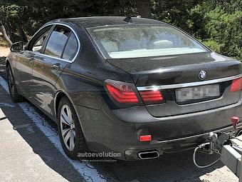 BMW готовит седан 7-Series к обновлению