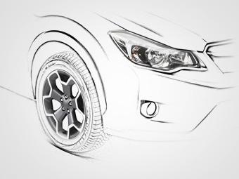 Компания Subaru опубликовала тизер нового кроссовера