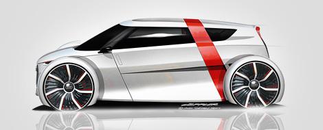 Опубликованы изображения двухместного компакт-кара Audi. Фото 1