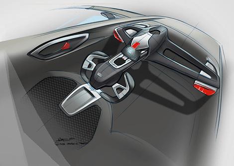 Опубликованы изображения двухместного компакт-кара Audi. Фото 3