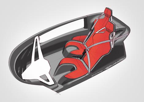 Опубликованы изображения двухместного компакт-кара Audi. Фото 4