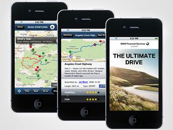 BMW выпустила приложение для поиска лучших драйверских дорог