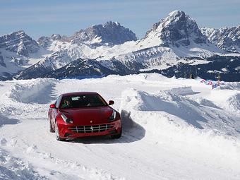 Ferrari запустит программу обучения зимнему вождению
