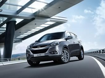 В России кроссовер Hyundai ix35 получил автопарковщик