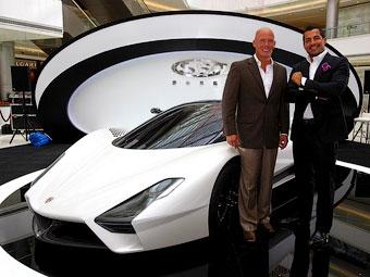 В Шанхае состоялся первый публичный дебют 1350-сильного суперкара SSC