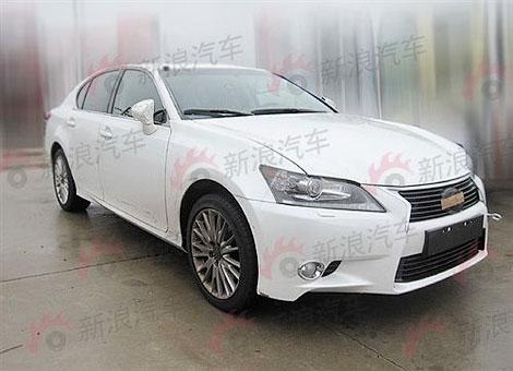 Фотошпионы засняли в Китае седан Lexus GS следующего поколения. Фото 1