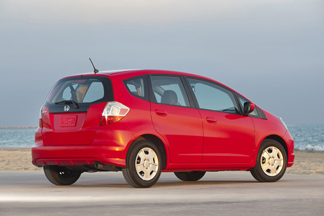 Отделение компании Honda в США представило обновленную версию модели Fit