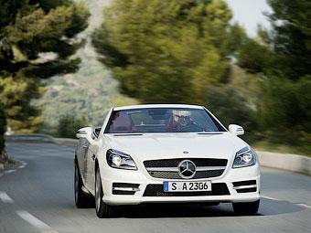 Mercedes-Benz SLK получит дизельный двигатель в сентябре