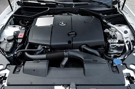 Продажи дизельного Mercedes-Benz SLK начнутся 13 сентября