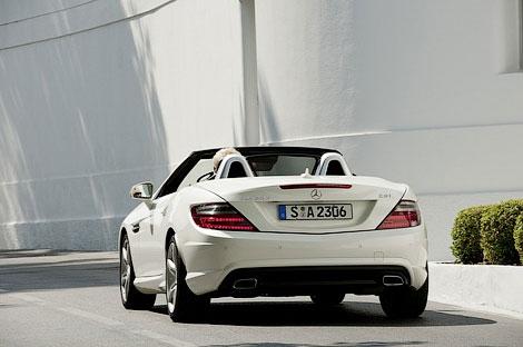 Продажи дизельного Mercedes-Benz SLK начнутся 13 сентября. Фото 1