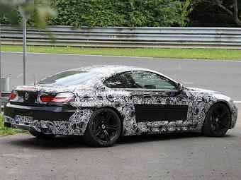 Тестовый прототип BMW M6 попал в аварию на Нюрбургринге