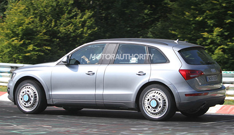 Появились шпионские фотографии тестового прототипа кроссовера Audi Q6