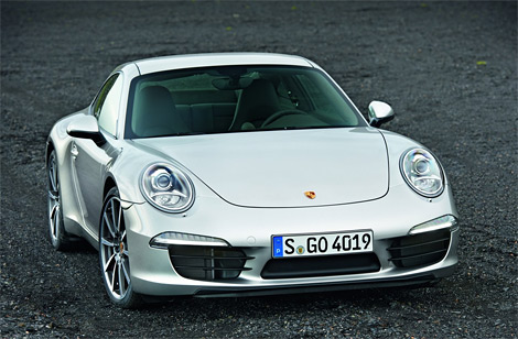 Изображения спорткупе Porsche 911 нового поколения попали в интернет до официальной премьеры. Фото 1