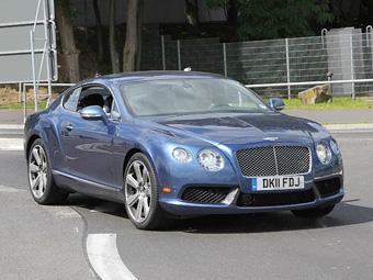 Фотошпионы сфотографировали новый Bentley Continental GT Speed