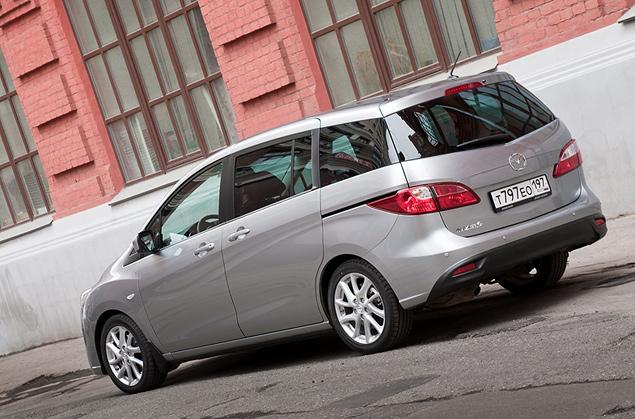 Длительный тест Mazda5: четвертая неделя