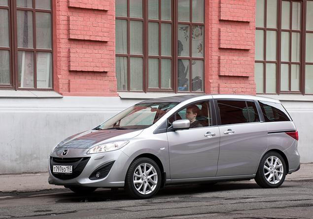 Длительный тест Mazda5: четвертая неделя. Фото 1