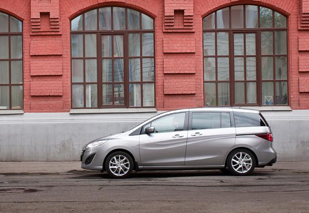 Длительный тест Mazda5: четвертая неделя. Фото 2
