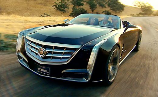 """Компания Cadillac показала """"небесный"""" кабриолет"""