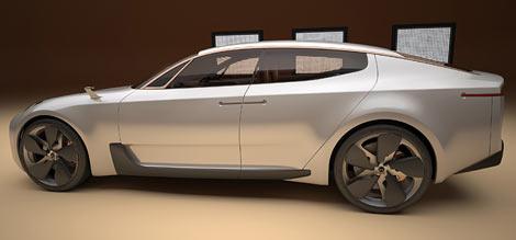 Корейцы покажут четырехдверный концепт-кар на Франкфуртском автосалоне. Фото 1