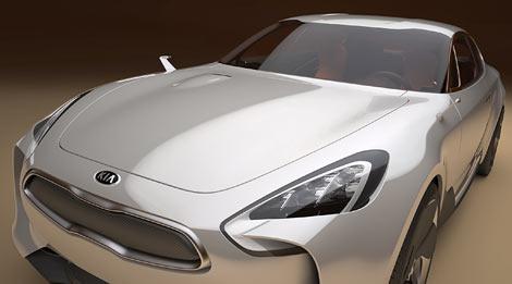 Корейцы покажут четырехдверный концепт-кар на Франкфуртском автосалоне. Фото 2