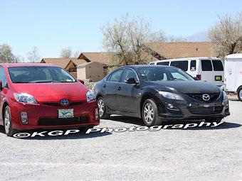 Начались испытания гибридной версии Mazda6