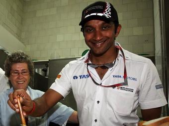 Картикеян выступит на Гран-при Индии в команде HRT