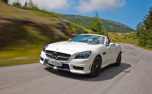 Mercedes-Benz представил самый мощный родстер SLK